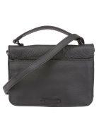 Rebecca Minkoff Twist Lock Shoulder Bag - Black