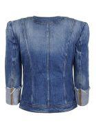 Balmain Jacket - Ff Bleu Jean