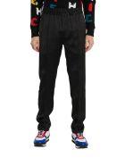Givenchy Vertical Logo Jogger Pants - Nero