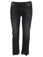 R13 Boy Straight Jeans - BLACK