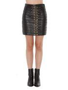 Manokhi Leather Skirt - Black