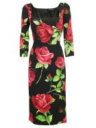 Dolce & Gabbana Dress - Rose fdo nero