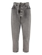 3x1 Cropped-fit Jeans - grey