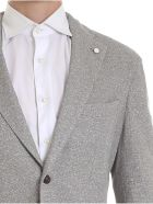 Luigi Bianchi Mantova Single Breasted Blazer - Sand