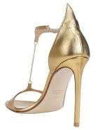 Francesco Russo Sandal - Gold