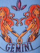 Alberta Ferretti Love Me Starlight Sweater - CELESTE