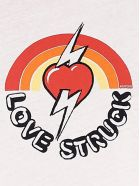RE/DONE 'love Struck' T-shirt - Beige
