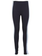 SportMax Side Stripe Leggings - Blue