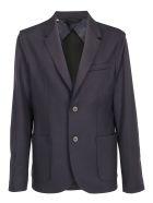 Lanvin Jersey Jacketr - Navy blue