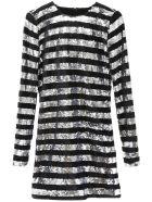 RTA Sequins And Velvet Dress - Basic