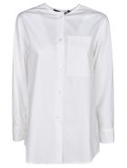 Sofie d'Hoore No-collar Shirt - White