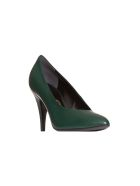 Gucci Leather Pump In Green - VERDE