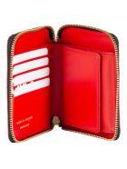 Comme des Garçons Shirt Boy Logo Print Wallet - Red