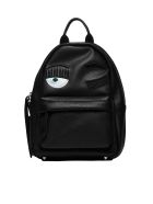 Chiara Ferragni Blinking Eye Backpack - Nero