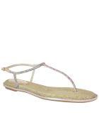 René Caovilla Thong Sandals - Multicolor