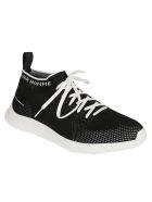 Christian Dior Low-top Logo Detail Mesh Sneakers - Black