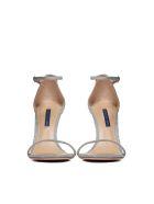 Stuart Weitzman Nudistsong Sandals - Argento