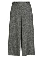 Department 5 Wide Fit Cropped Trousers - Grey