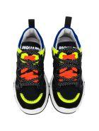 Dsquared2 Black Sneakers - Nero
