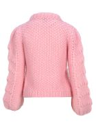 Ganni Ganni Hand-knitted Jumper - MARY'S PINK