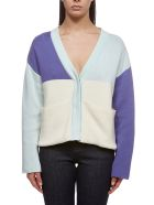 Valentine Witmeur Lab Knitted Cropped Cardigan - Multicolor