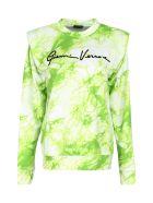 Versace Cotton Crew-neck Sweatshirt - green