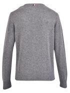 Moncler Branded Sweater - Grey