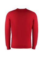 Drumohr Crew-neck Wool Sweater - red