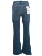 Frame Le Crop Mini Boot Jeans Cropped W/ribs - Packard Ribs