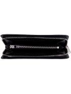 Saint Laurent Logo Leather Wallet - black