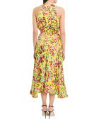 Saloni Rita Midi Dress - Giallo