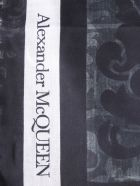 Alexander McQueen Hope And Proim Printed Scarf - NERO