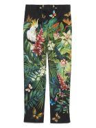 Dolce & Gabbana 'jungle' Pants - black