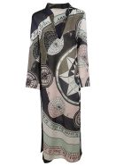 Tory Burch Printed Dress - multicolored