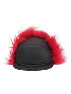 Prada Baseball Hat - Nero/cerise