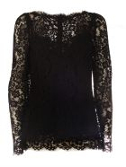 Dolce & Gabbana Lace Blouse - Nblack