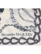 Alexander McQueen Chandelier Skull Shawl - Ivory