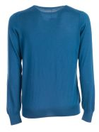 Barba Napoli Classic Sweater - Bluette