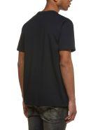 R13 Slogan Print T-shirt - Nero bianco
