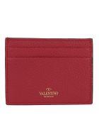 Valentino Garavani Card Holder - Rock pink