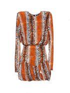 Rotate by Birger Christensen Dress - Orange