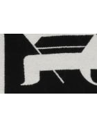 Palm Angels Logo Scarf - Nero