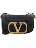 Valentino Valentino Garavani - Supervee Crossbody Bag - black