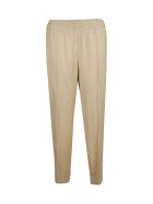 Agnona Classic Straight Trousers - Brown