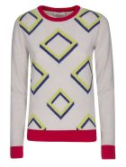 Diva Slim Fit Sweater - Ice