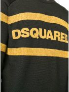 Dsquared2 Black/yellow Wool Jumper - Nero+marrone