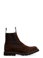 Tricker's Henry Suede Chelsea Boots - brown