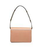 Marni Trunk Shoulder Bag - Caramello