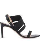 Stuart Weitzman Adrienne Heel Sandals - black