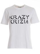 Krizia Printed T-shirt - White